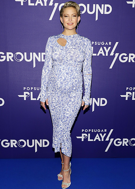 Kate Hudson at PopSugar Play/Ground