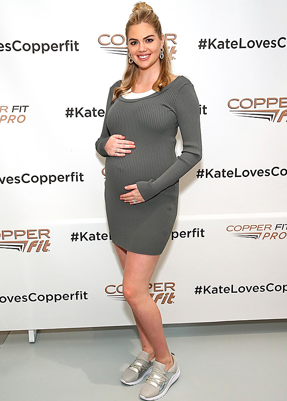 Kate Upton at Copper Fit launch