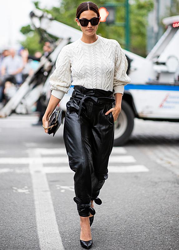 Lily Aldridge walking in Paris