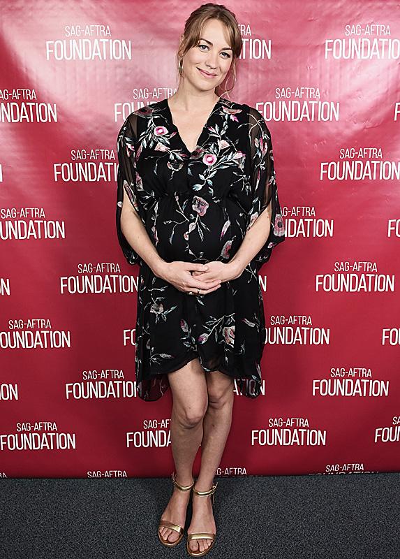 Yvonne Strahovski at SAG-AFTRA Conversations