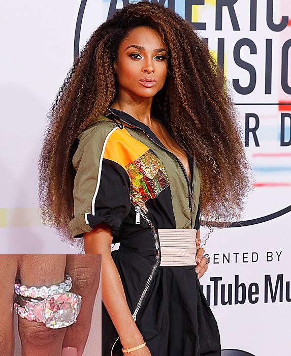 Ciara at the American Music Awards