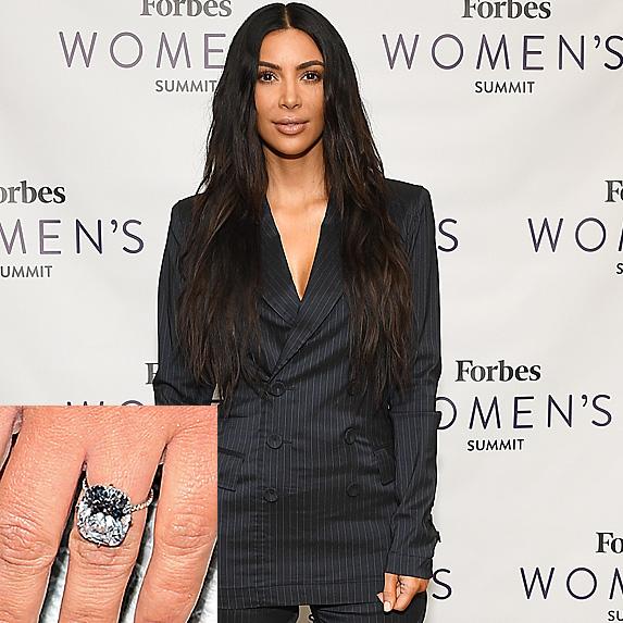 Kim Kardashian at Forbes Women's Summit