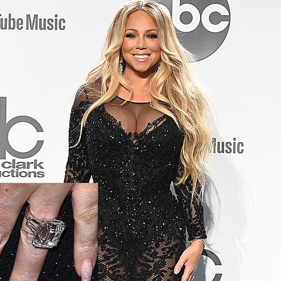 Mariah Carey at the American Music Awards