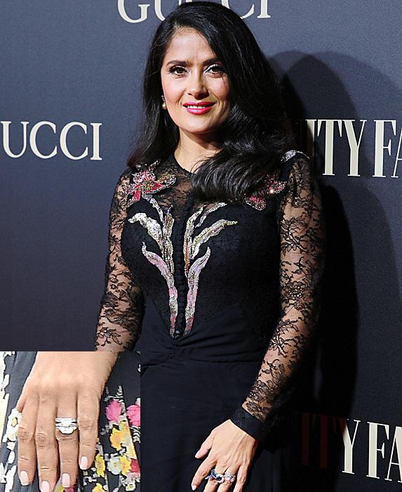 Salma Hayek at Vanity Fair Personality of the Year