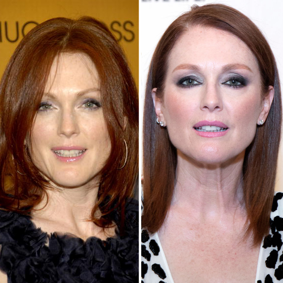 Julianne Moore before and after