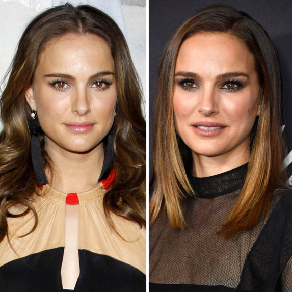 Natalie Portman before and after