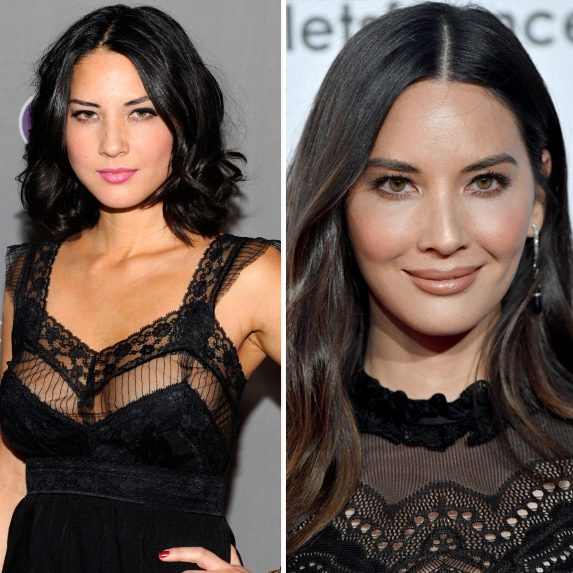Olivia Munn before and after