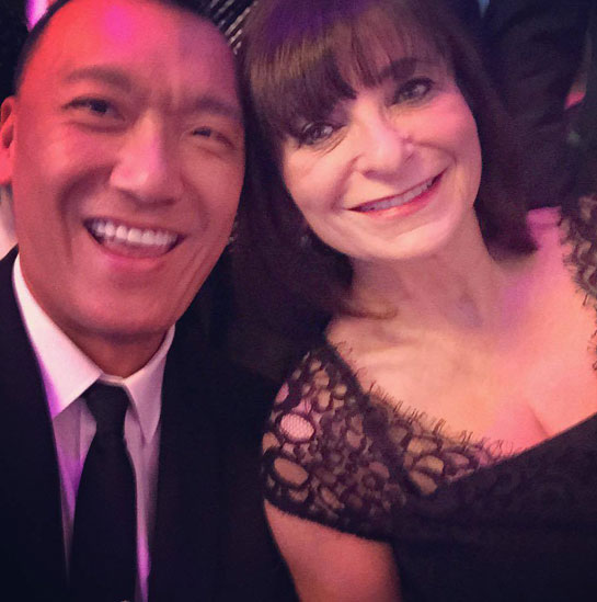 Joe Zee and Jeanne Beker