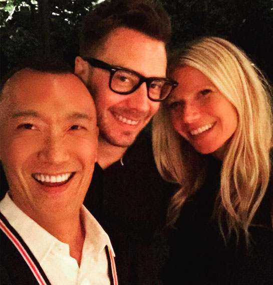 Joe Zee and Gwyneth Paltrow