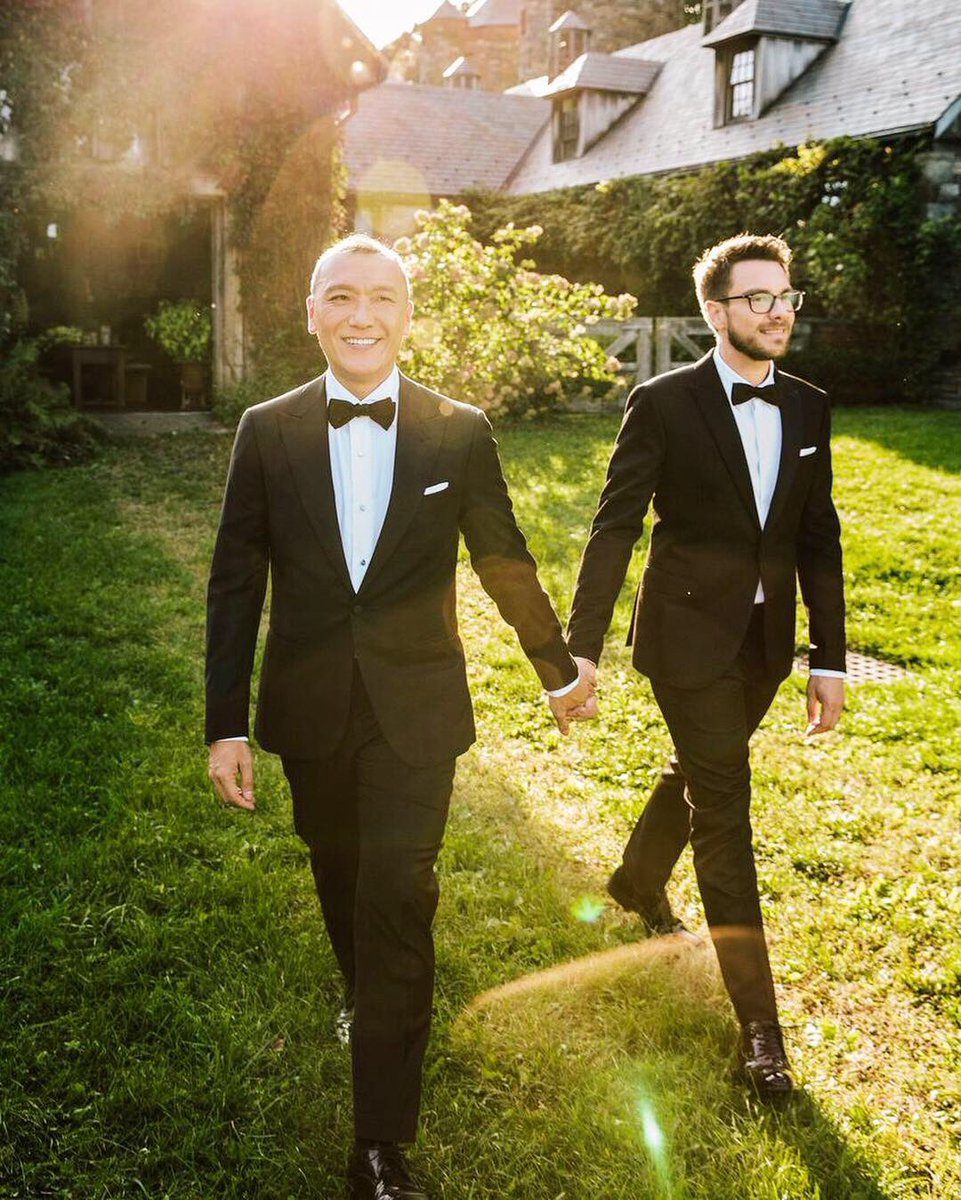 Joe Zee and Rob Yonkers get married