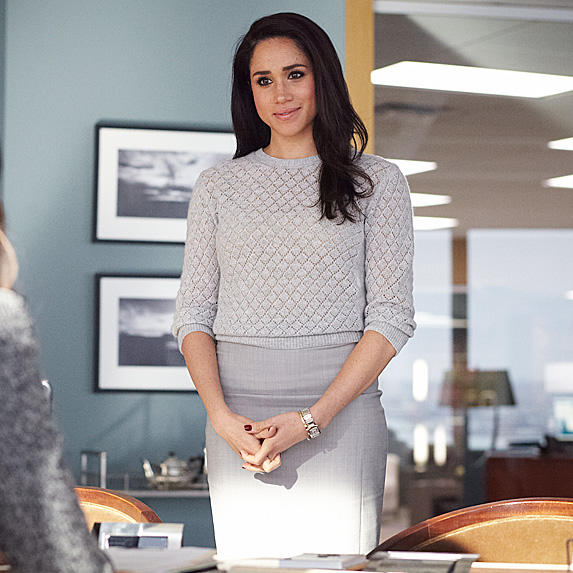Meghan as Rachel on 'Suits'