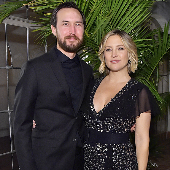 Kate Hudson and Danny Fujikawa at Michael Kors Dinner to celebrate Kate Hudson and The World Food Programme in November