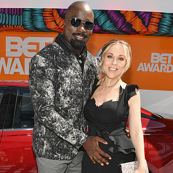 Mike and Iva Colter at the 2018 BET Awards in June