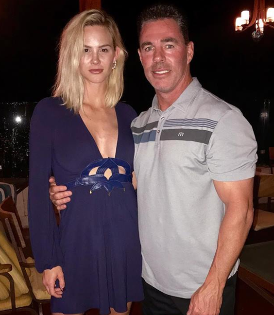 Meghan and Jim celebrated 4 years together