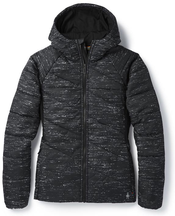 Black and grey winter jacket