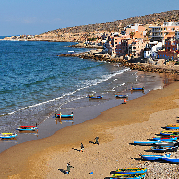 Beaches in Morocco