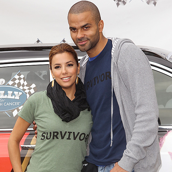 Eva Longoria and Tony Parker at 2010 Rally for Kids with Cancer