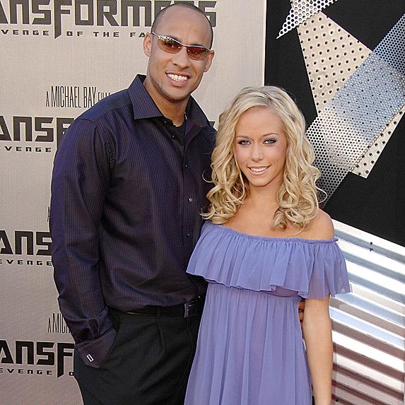 Hank Bassett and Kendra Wilkinson in 2009