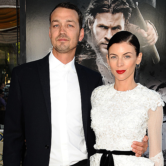 Rupert Sanders and Liberty Ross at the Snow White and the Huntsman premiere in 2012