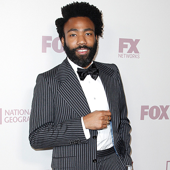 Donald Glover at 2018 Emmy Nominee party