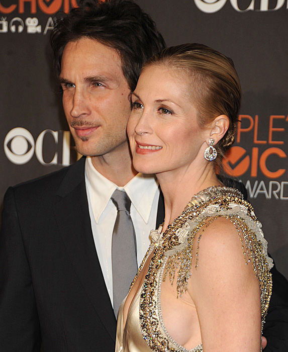 Daniel Giersch and Kelly Rutherford at the 2010 People's Choice Awards