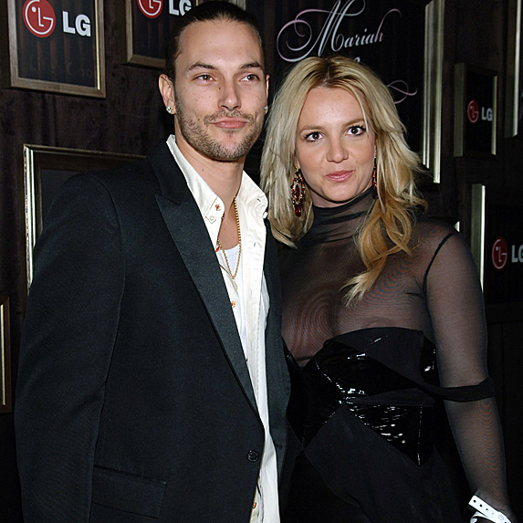 Kevin Federline and Britney Spears at Grammys after party in 2006