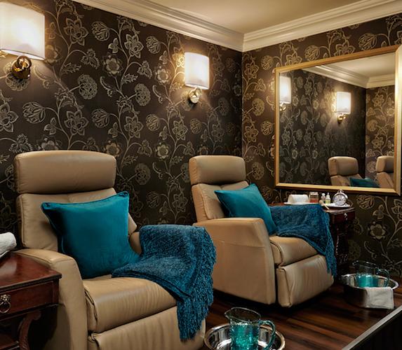 The Spa treatment room at Algonquin Resort