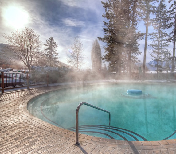 Fairmont Hot Springs outdoor pool