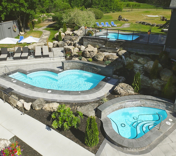 Exterior spa views at Millcroft Inn and Spa