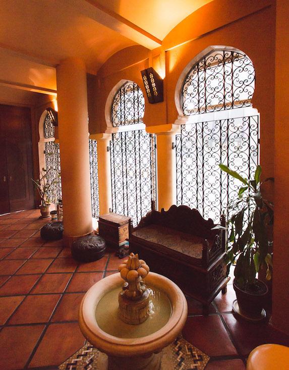 Interior at Miraj Hammam