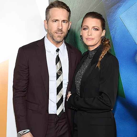 Ryan Reynolds and Blake Lively at premiere of 'A Simple Favor' in September 2018