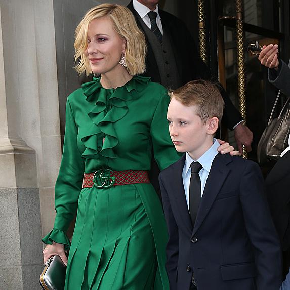 Cate Blanchett and her eldest son