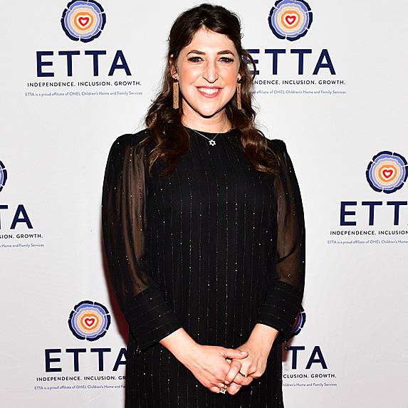 Mayim Bialik at ETTA's 25th anniversary gala