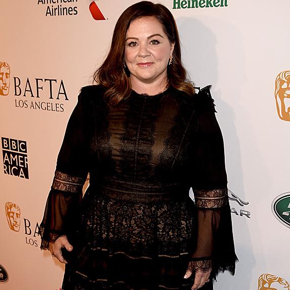Melissa McCarthy at the BAFTA red carpet