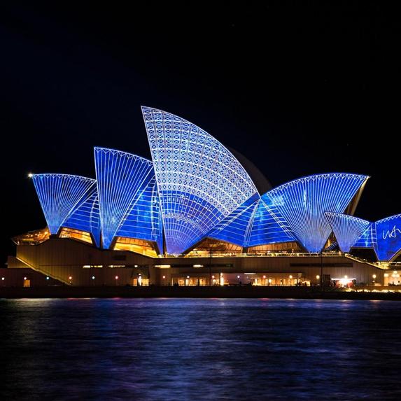 Sydney, Australia at night