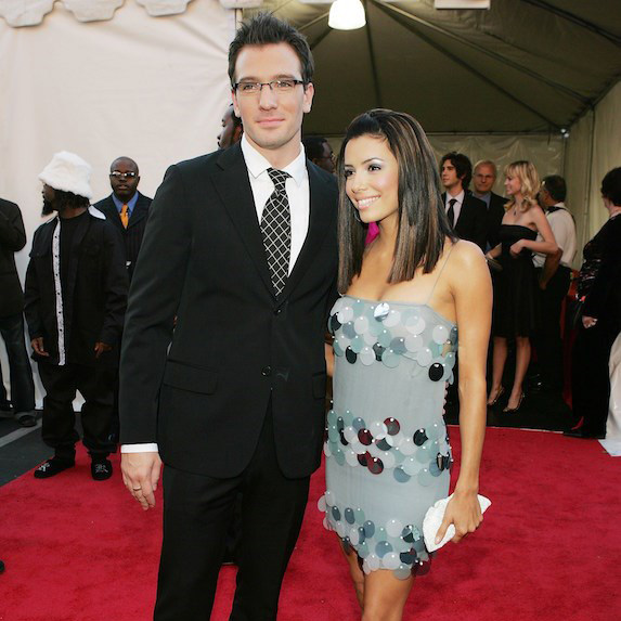 Eva Longoria and JC Chasez