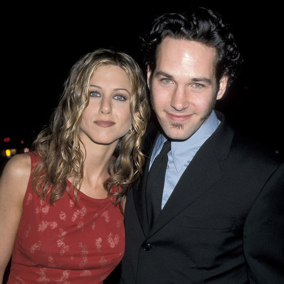Jennifer Aniston and Paul Rudd on the red carpet