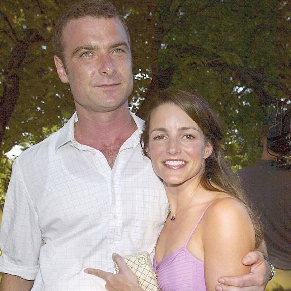 Liev Schreiber and Kristin Davis