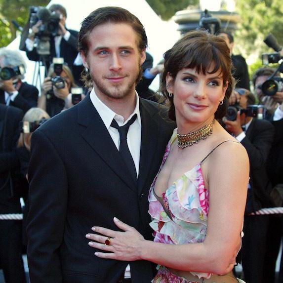 Sandra Bullock and Ryan Gosling on the red carpet