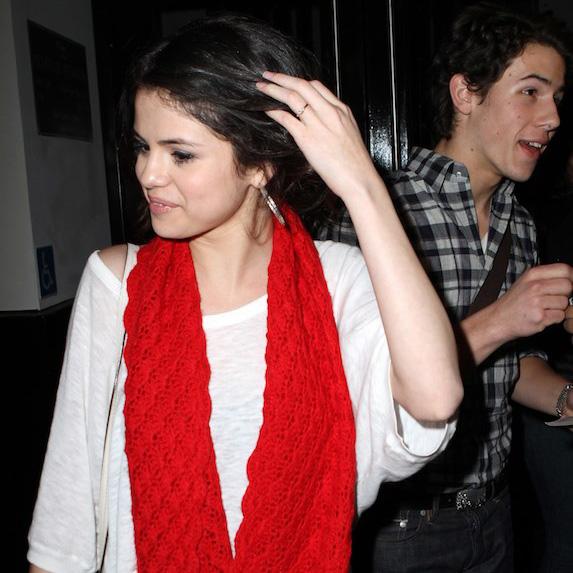 Selena Gomez and Nick Jonas