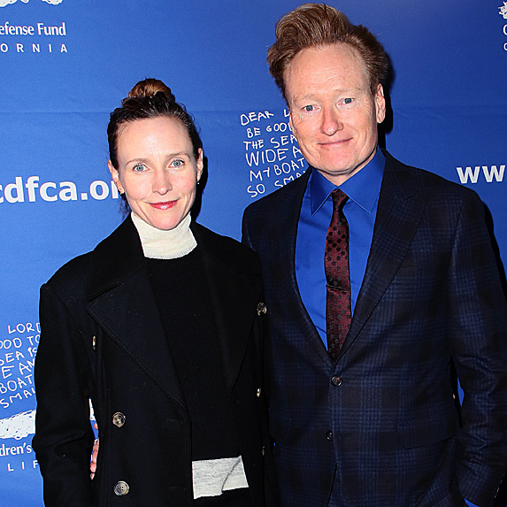Liza and Conan O'Brien