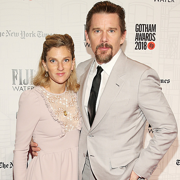 Ryan Shawhughes and Ethan Hawke
