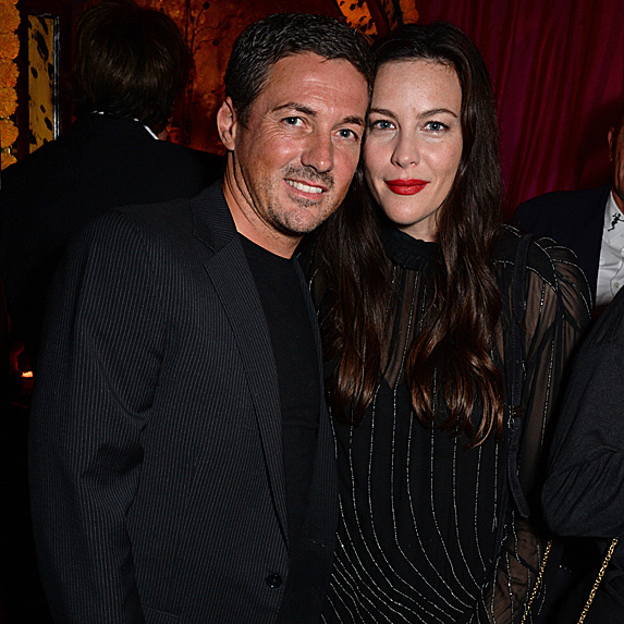 David Gardner and Liv Tyler