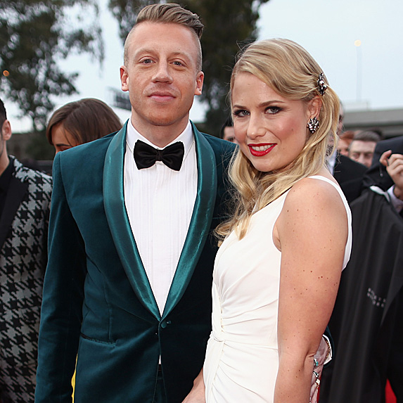 Macklemore and Tricia Davis