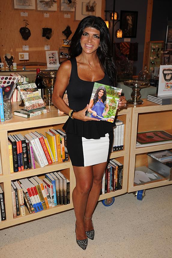 Teresa Giudice at her book launch