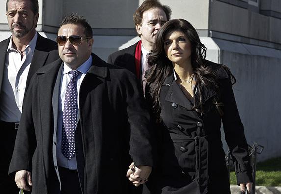 eresa And Joe Giudice Court Appearance