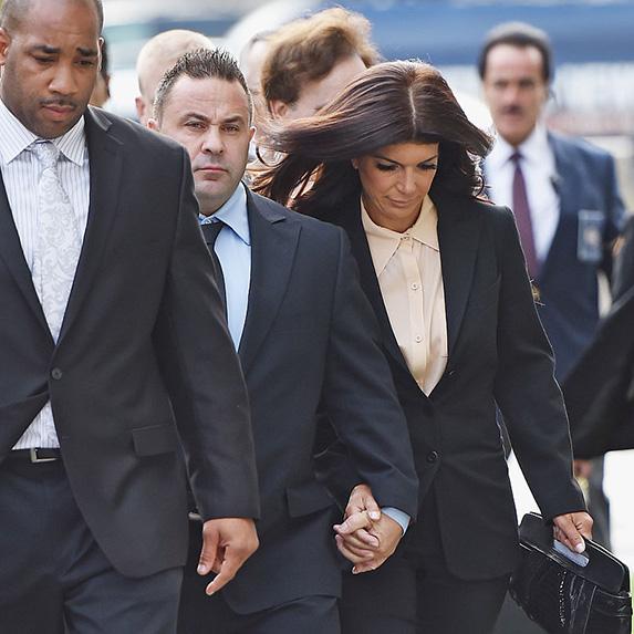 Teresa And Joe Giudice Court Appearance on October 2 2014