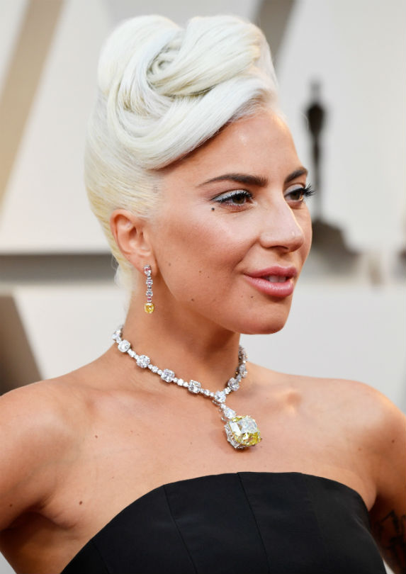 Lady Gaga at the 2018 Oscars