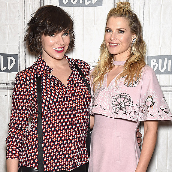 Milla Jovovich and Ali Larter
