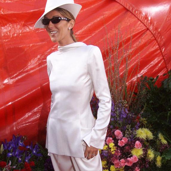 Celine Dion on the red carpet